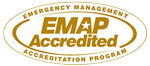 Emergency Management Accreditation Program (EMAP) seal