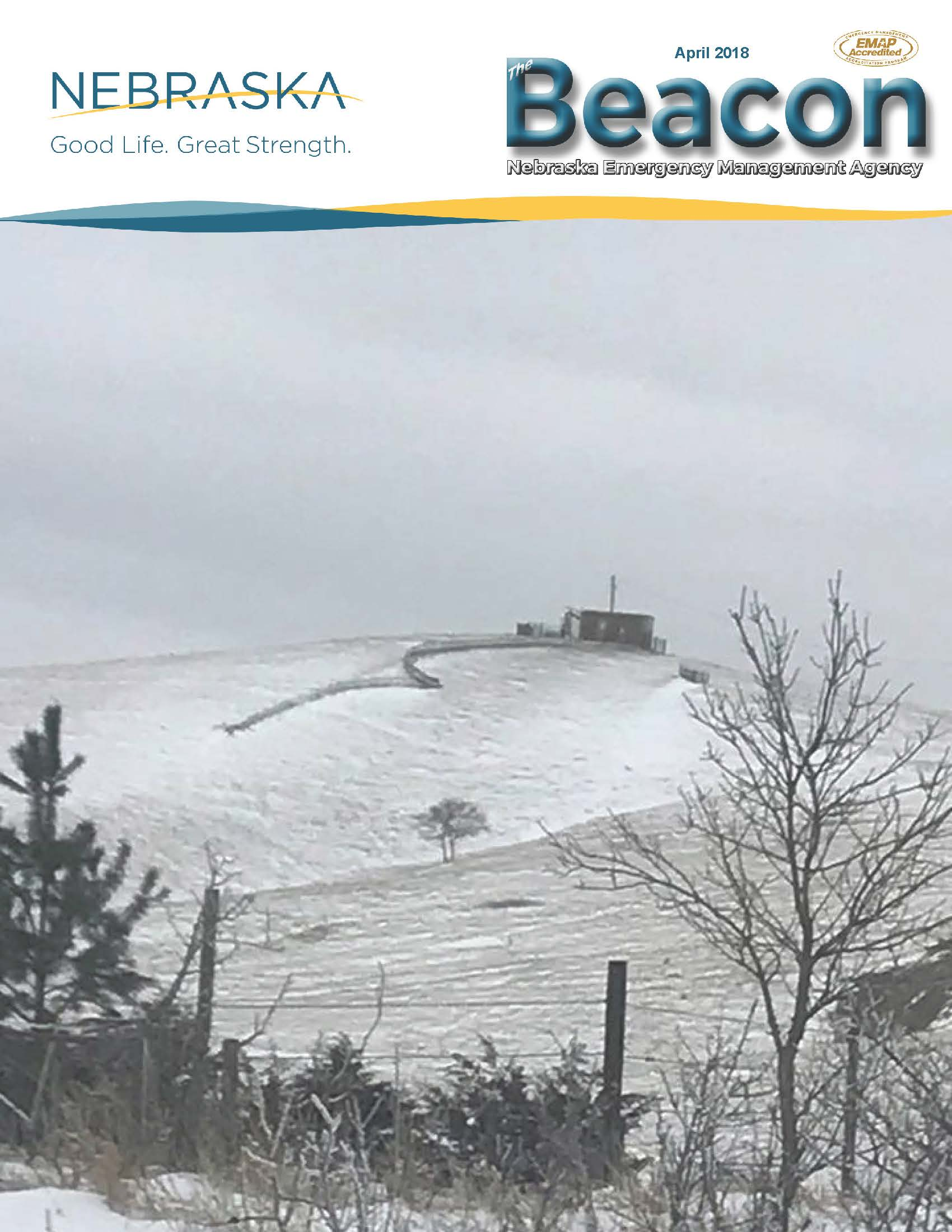April 2018 Cover of the Beacon