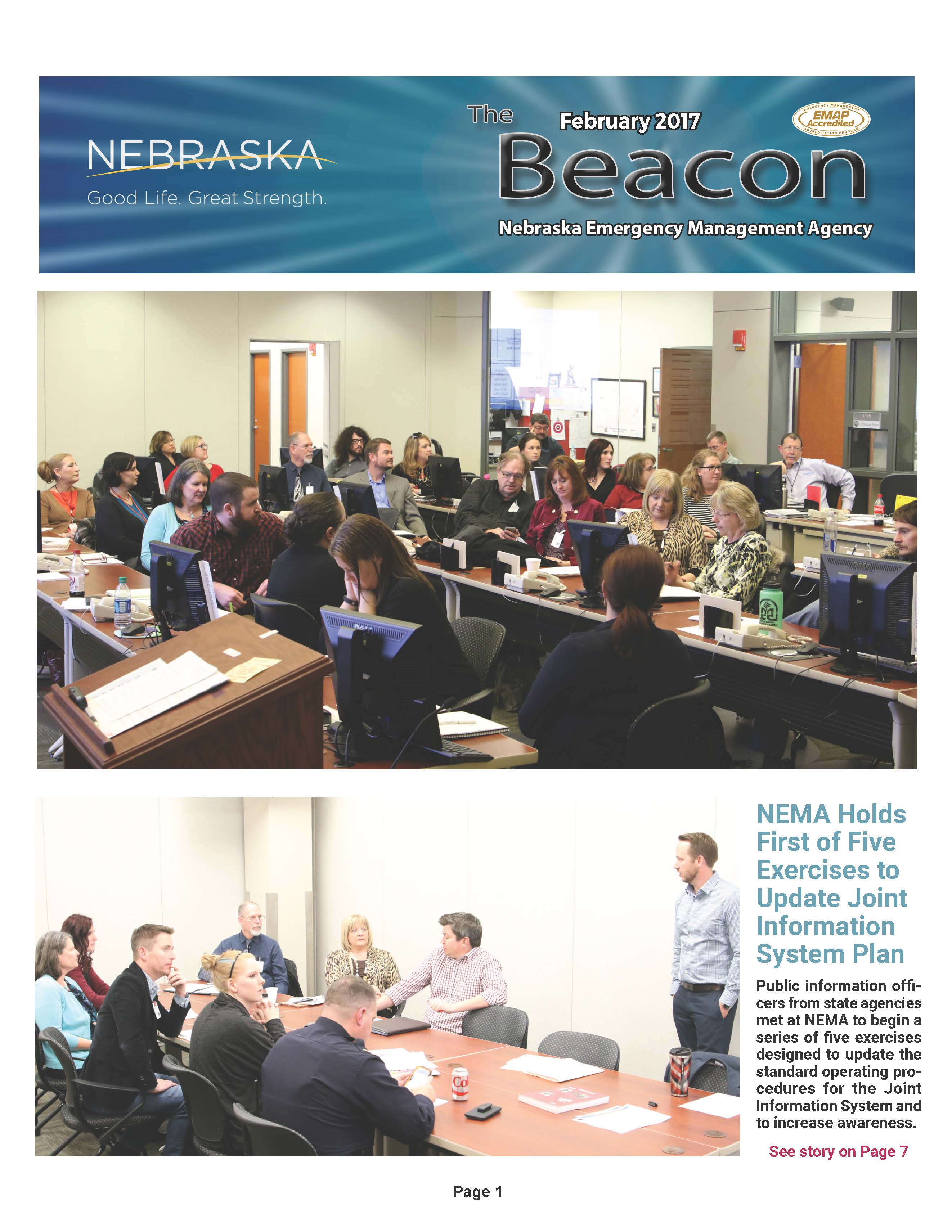February 2017 Cover of the Beacon