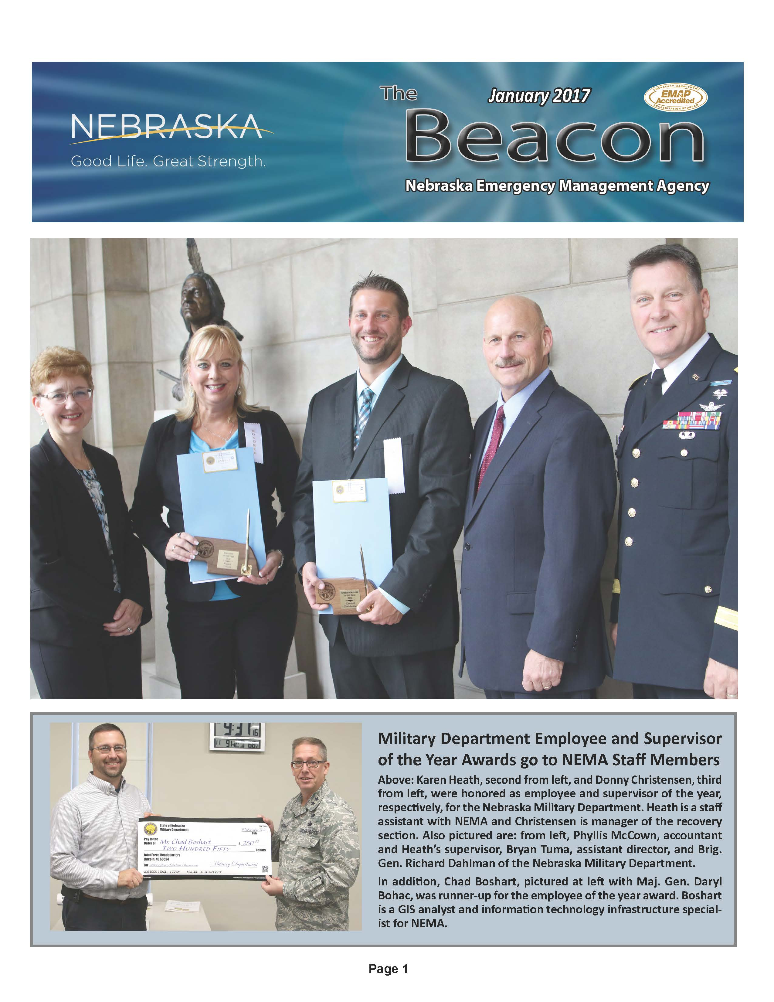 January 2017 Cover of the Beacon
