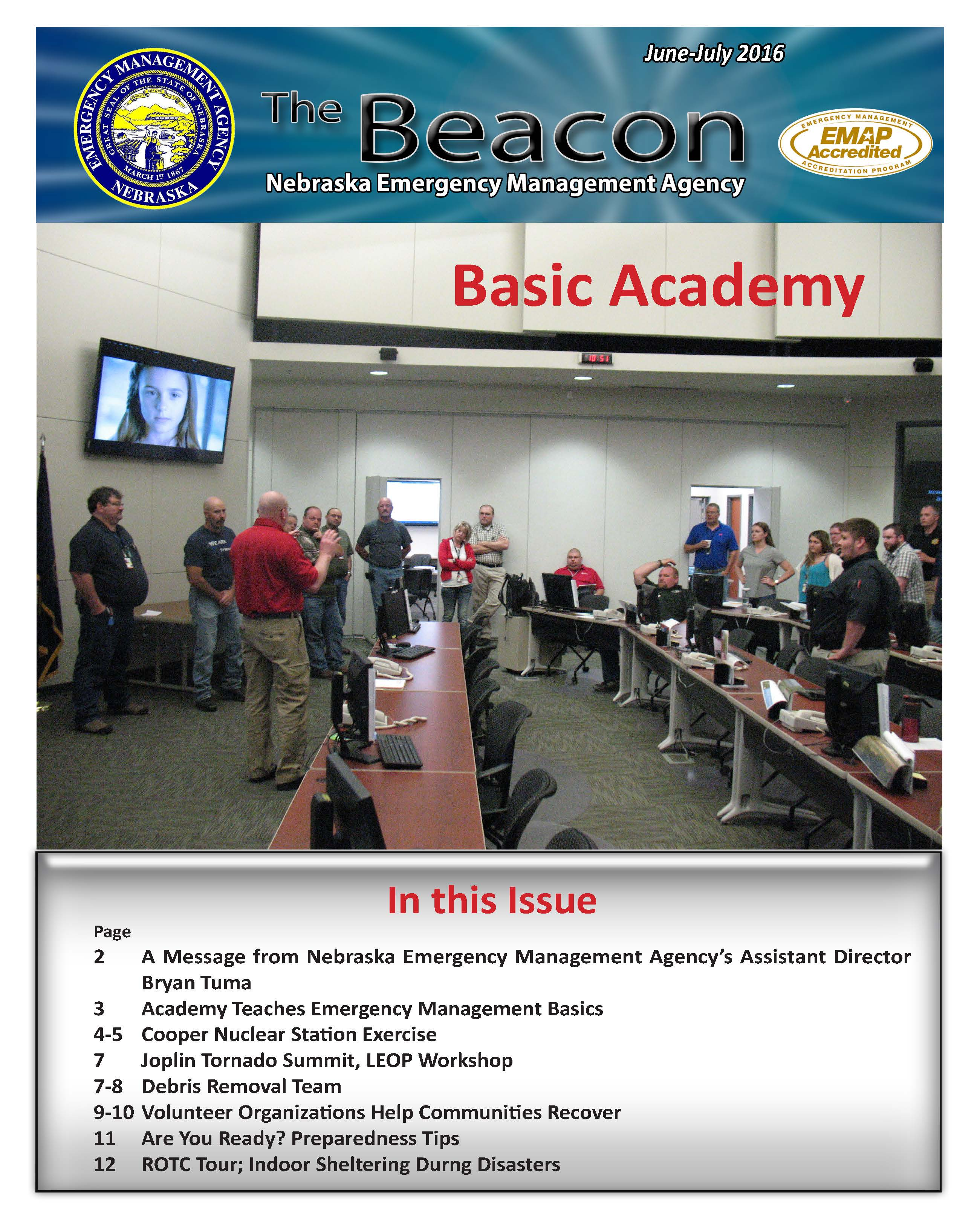 June 2016 Cover of the Beacon